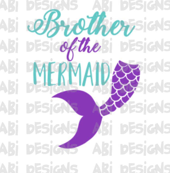 Brother Of The Mermaid- Sublimation