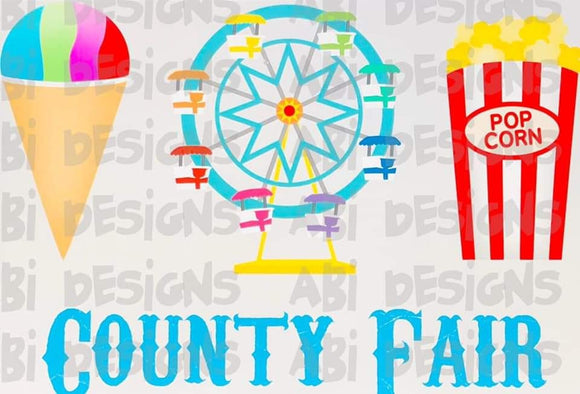 County Fair- Sublimation