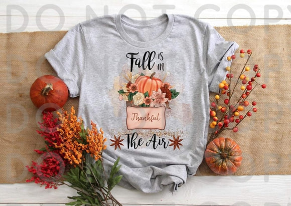 Fall Is In The AIr- Sublimation