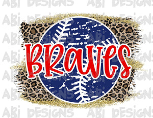 Braves- Sublimation