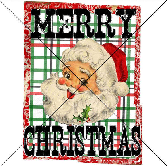 Merry Christmas Santa- Sublimation
