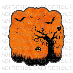 Halloween- Sublimation