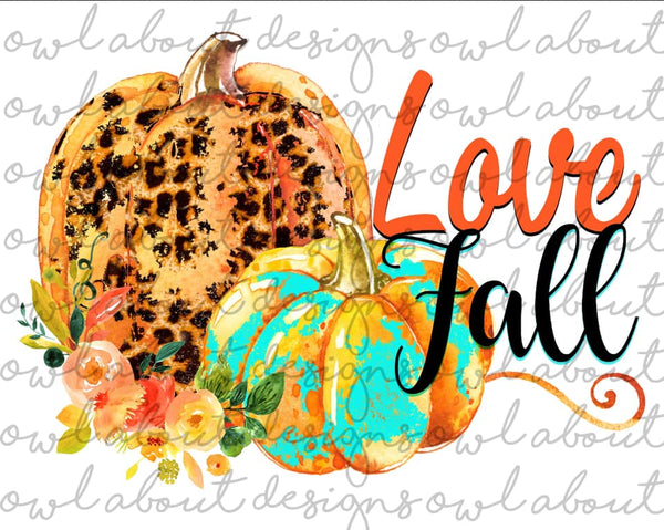 Love Fall- Sublimation