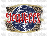 Yankees- Sublimation
