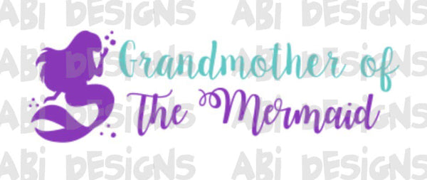 Grandmother Of The Mermaid- Sublimation