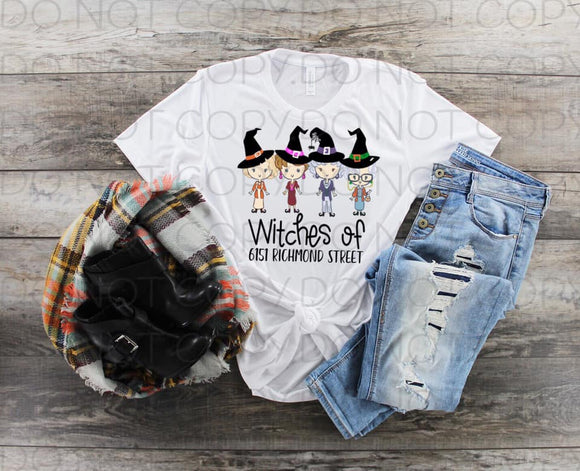 Witches Of 6151 Richmond Street- Sublimation