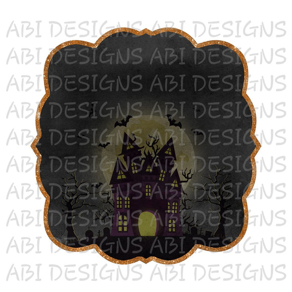 Haunted Mansion- Sublimation