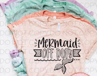 Mermaid Of Duty- Sublimation