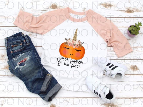 Cutest Pumpkin In The Patch- Sublimation