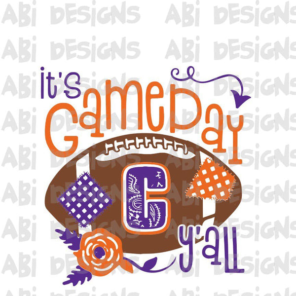 It's Game Day Y'all- Sublimation