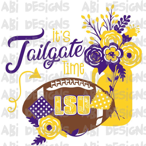 It's Tailgate Time- Sublimation