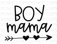 Boy Mama- Sublimation