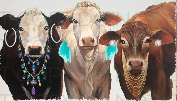 Sassy Cows- Sublimation