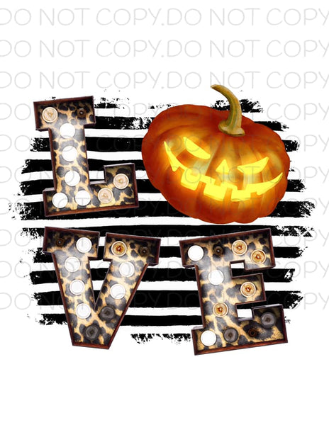 Halloween Love- Sublimation
