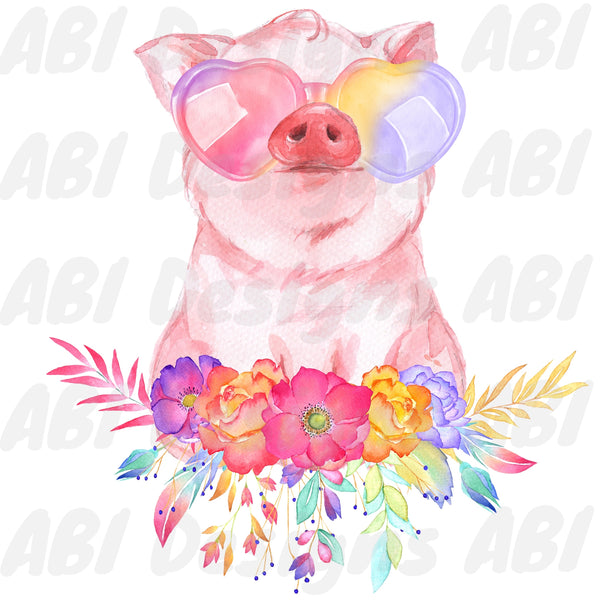 Sunglasses pig - Sublimation