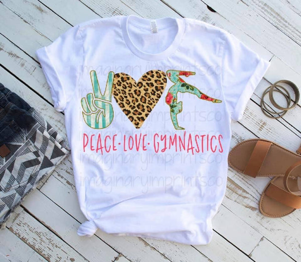 Peace Love Gymnastics - Sublimation