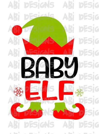 Baby Elf -Sublimation