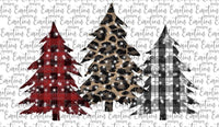 Christmas Trees -Sublimation
