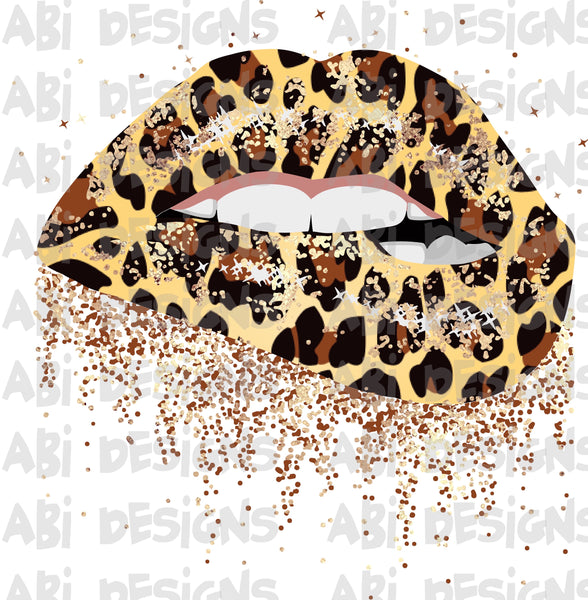Leopard lips -Sublimation