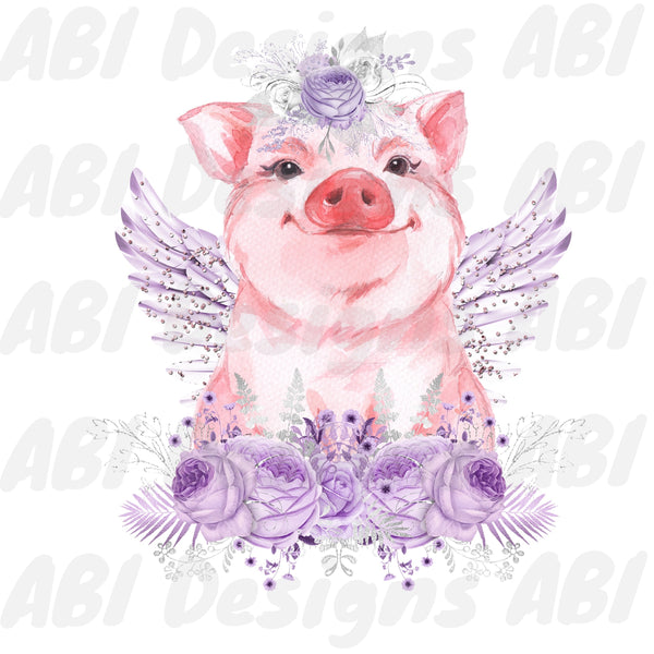 Purple pig - Sublimation
