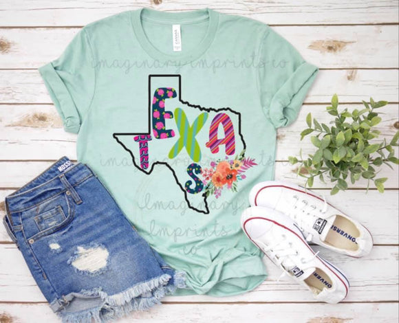 Texas - Sublimation