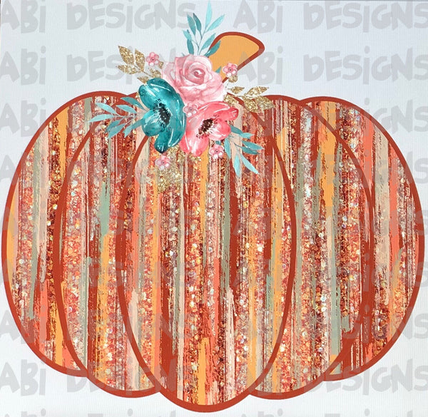 Glitter Pumpkin - Sublimation