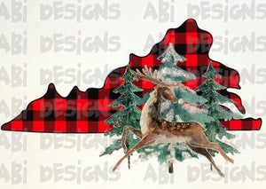 Virginia Buffalo Plaid - Sublimation