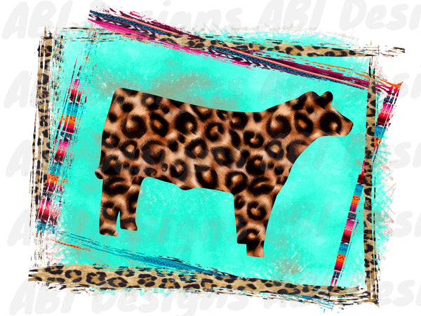 Leopard cow - Sublimation