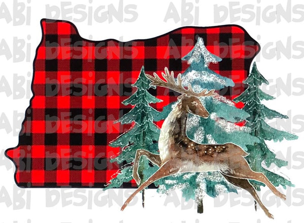 Oregon Buffalo Plaid - Sublimation
