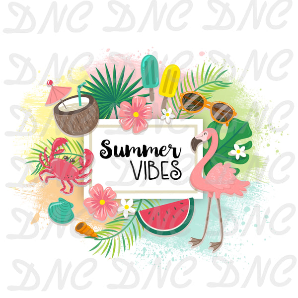 Summer vibes -Sublimation