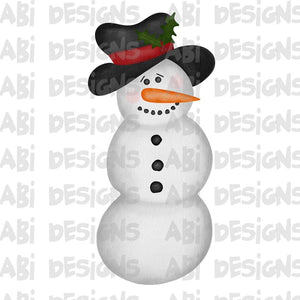 Snowman - Sublimation