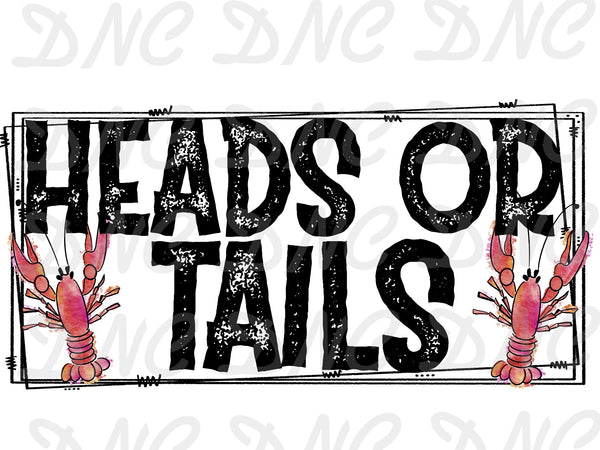 Heads or tails - Sublimation