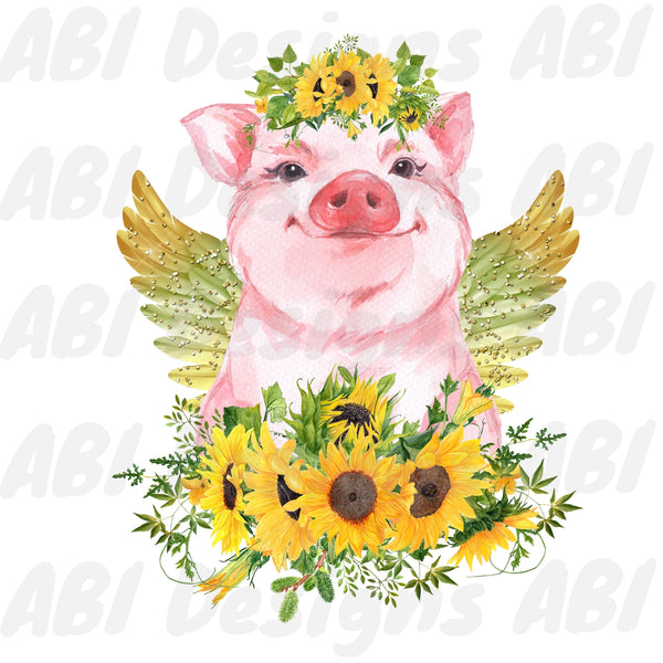 Sunflower pig - Sublimation