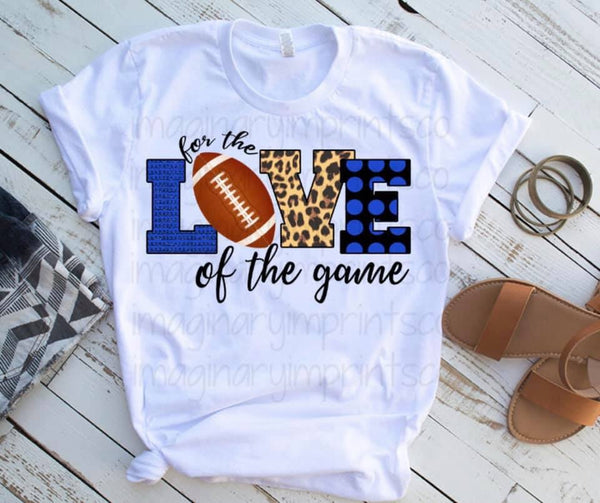For The Love Of The Game - Sublimation