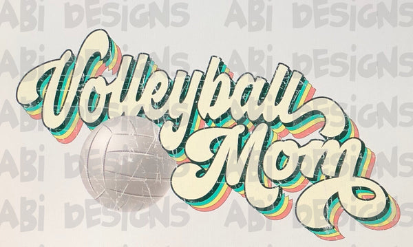 Volleyball Mom - Sublimation