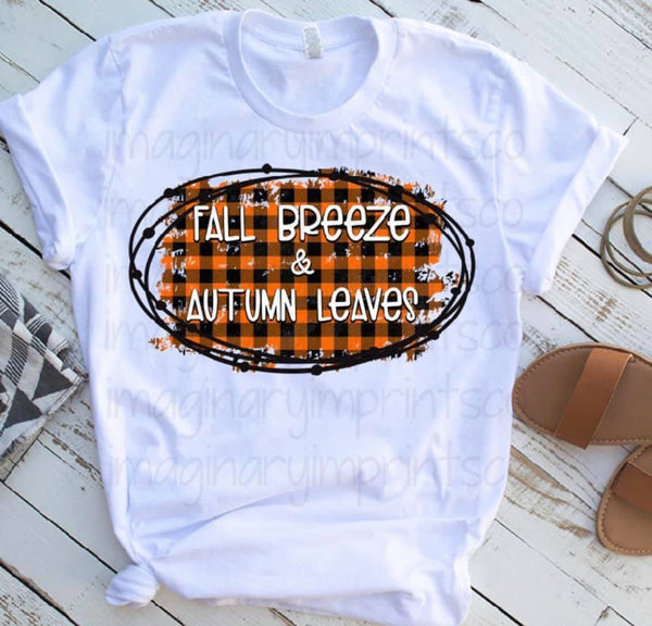 Fall Breeze & Autumn Leaves - Sublimation