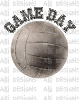 Game Day volleyball  - Sublimation