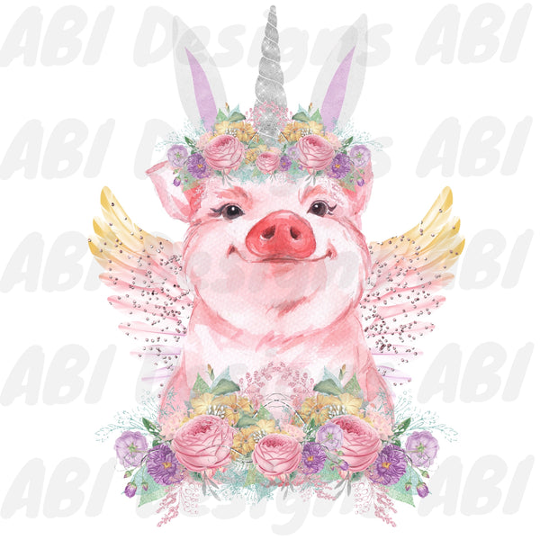 Easter pig - Sublimation