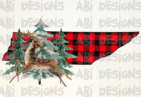 Tennessee buffalo plaid - Sublimation