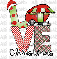 Love Christmas -Sublimation