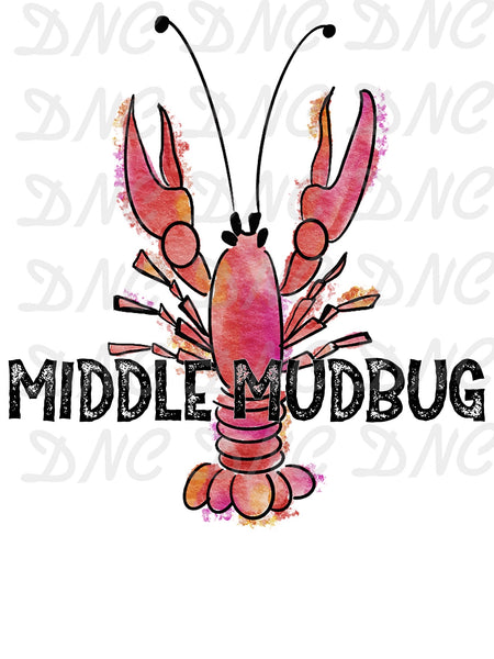 Middle mudbug - Sublimation