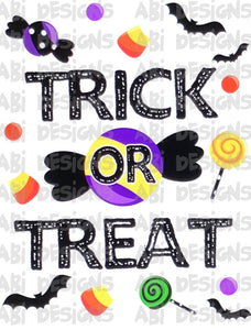 Trick or Treat -Sublimation