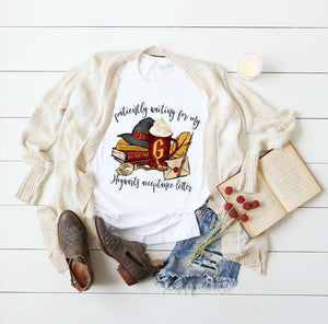 Patiently waiting hogwarts letter -Sublimation