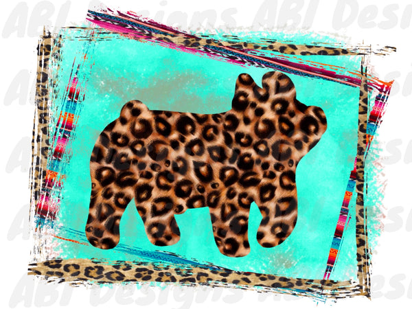 Leopard pig - Sublimation