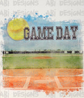 Softball Game Day - Sublimation
