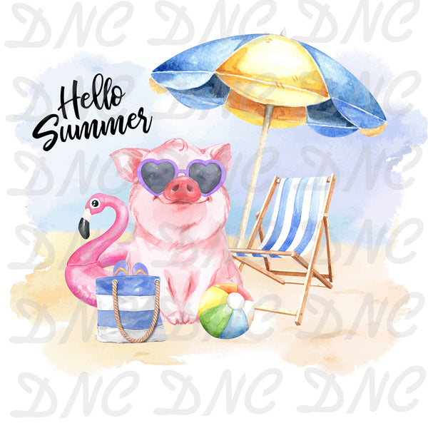 Hello summer -Sublimation