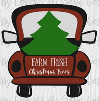 Farm Fresh Christmas Trees -Sublimation