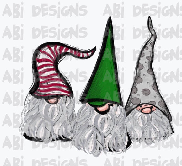 Christmas Gnomes - Sublimation