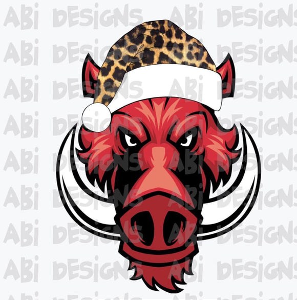 Christmas hog -Sublimation