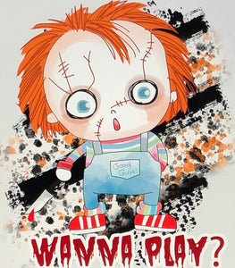 Chucky wanna play- Sublimation